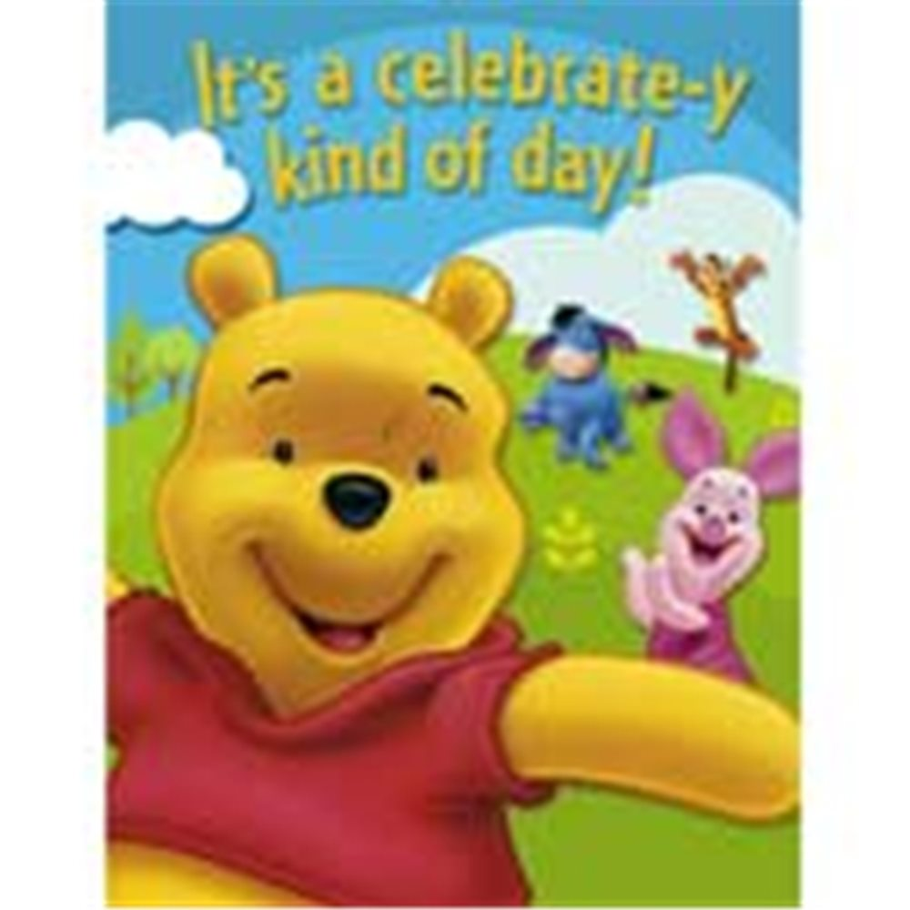 Picture of Pooh and Friends Invitation