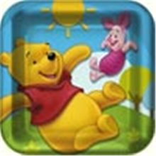 Picture of Pooh and Friends Dessert Plate