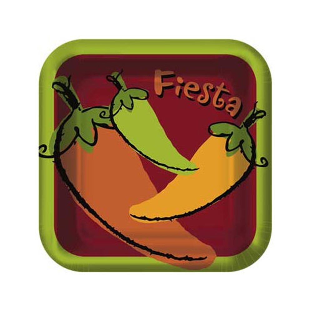 Picture of Fiesta Peppers Desert Plates