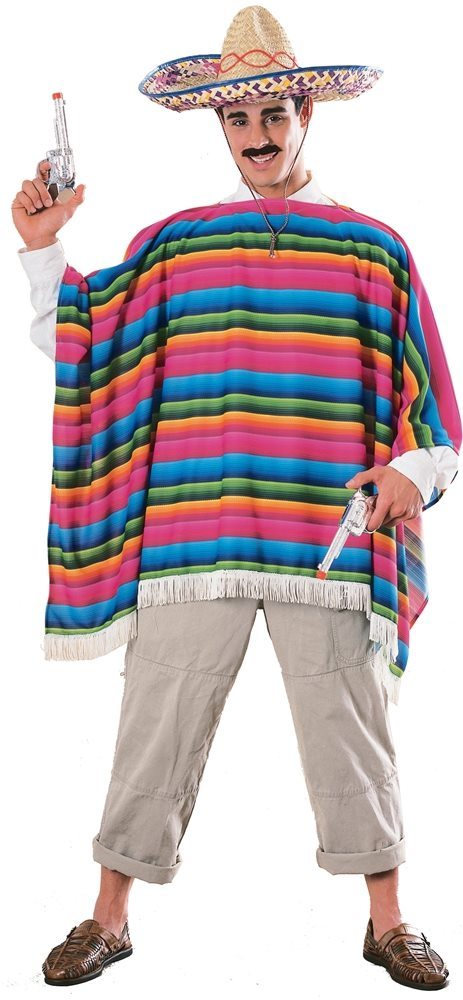 Picture of Mexican Serape Adult Costume