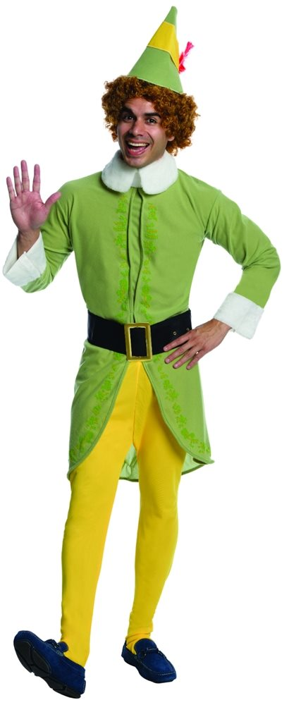 Picture of Buddy the Elf Adult Mens Costume