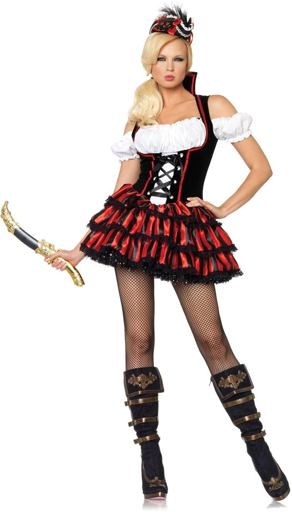Picture of Ship Wreck Pirate Adult Womens Costume