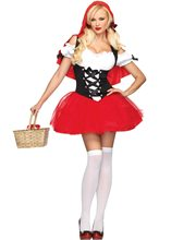 Picture of Racy Riding Hood Adult Womens Costume