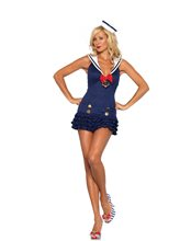 Picture of Sweetheart Sailor Adult Womens Costume