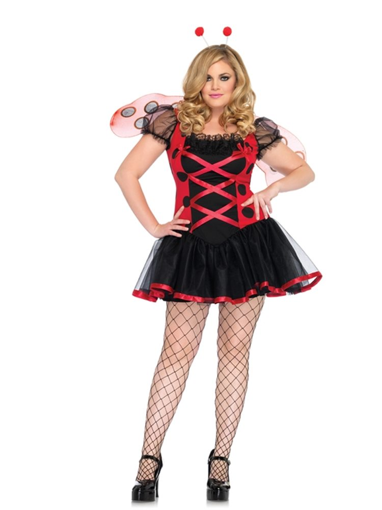 Picture of Lady Bug Adult Womens Plus Size Costume