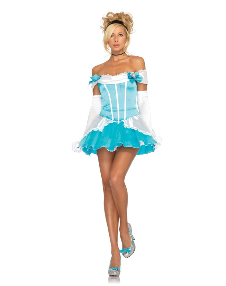 Picture of Glass Slipper Princess Adult Womens Costume