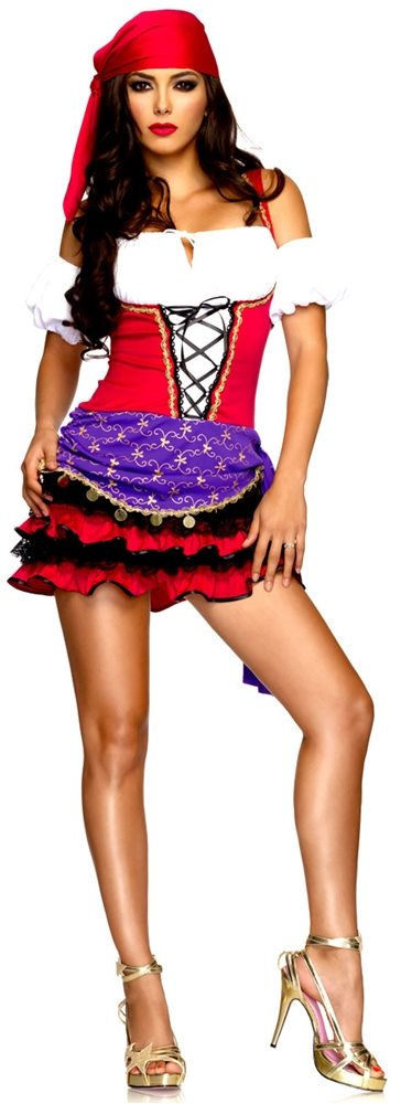 Picture of Crystal Ball Gypsy Sexy Adult Womens Costume