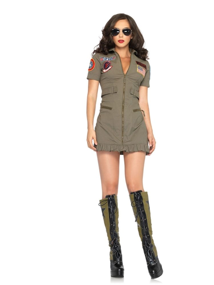 Picture of Top Gun Dress Adult Womens Costume