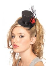 Picture of Clip On Glitter Top Hat