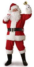 Picture of Plush Santa Claus Suit Adult Costume