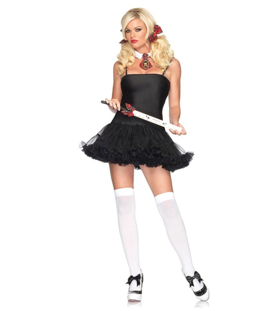 Picture of Petticoat Dress Black