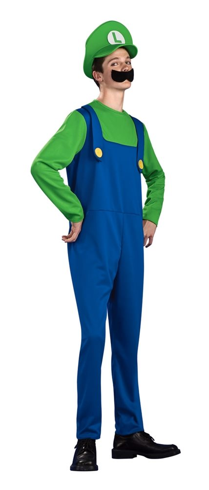Picture of Mario Brothers Luigi Teen Costume