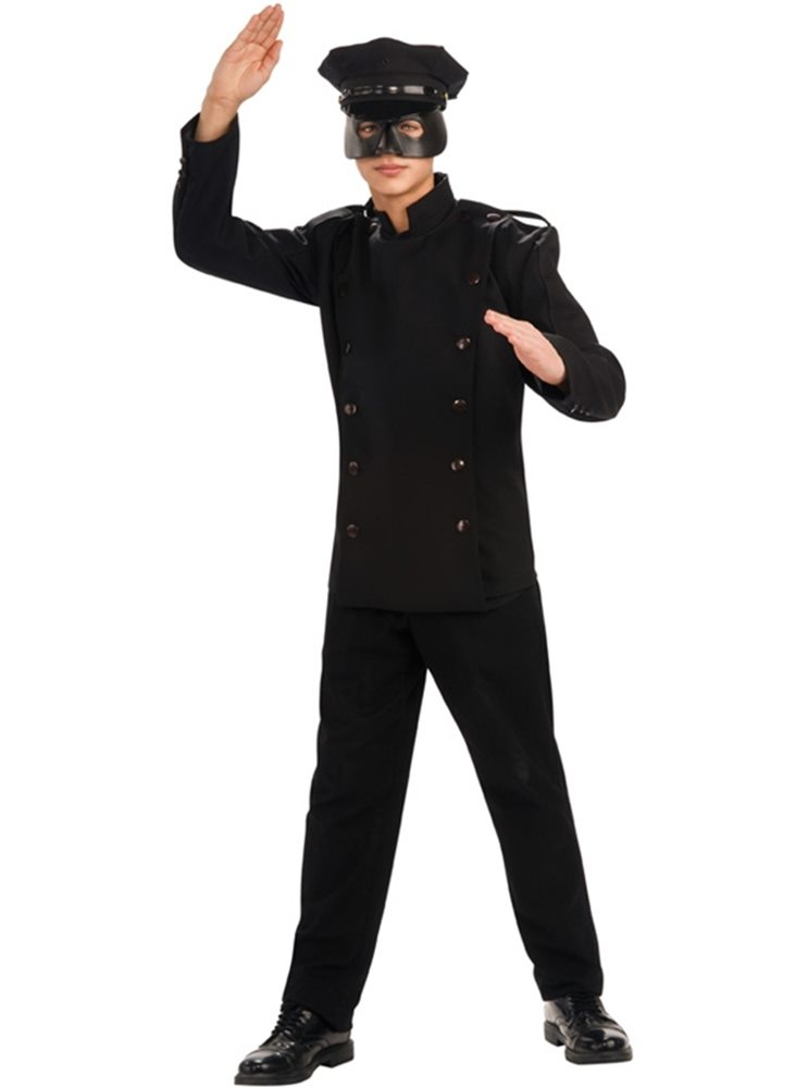 Picture of Green Hornet Deluxe Kato Adult Mens Costume
