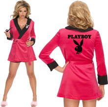 Picture of Playboy Sexy Girlfriend Pink Womens Costume