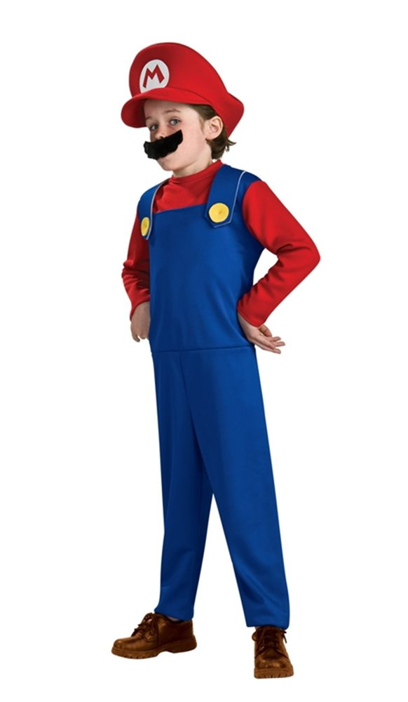 Picture of Mario Brothers Mario Toddler & Child Costume