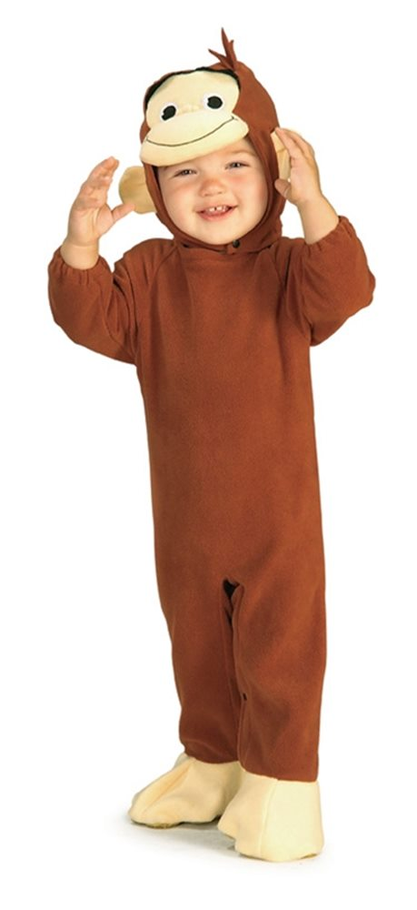 Picture of Curious George Newborn Costume