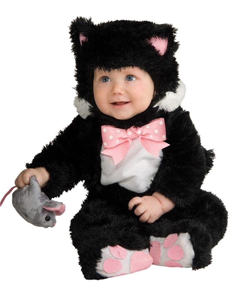 Picture of Black Inky Kitty Baby Costume