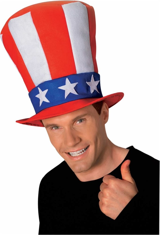 Picture of Uncle Sam Top Hat