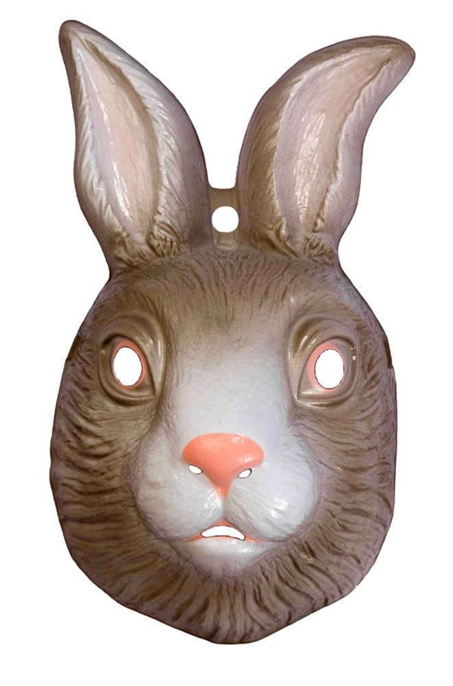 Picture of Rabbit Plastic Mask