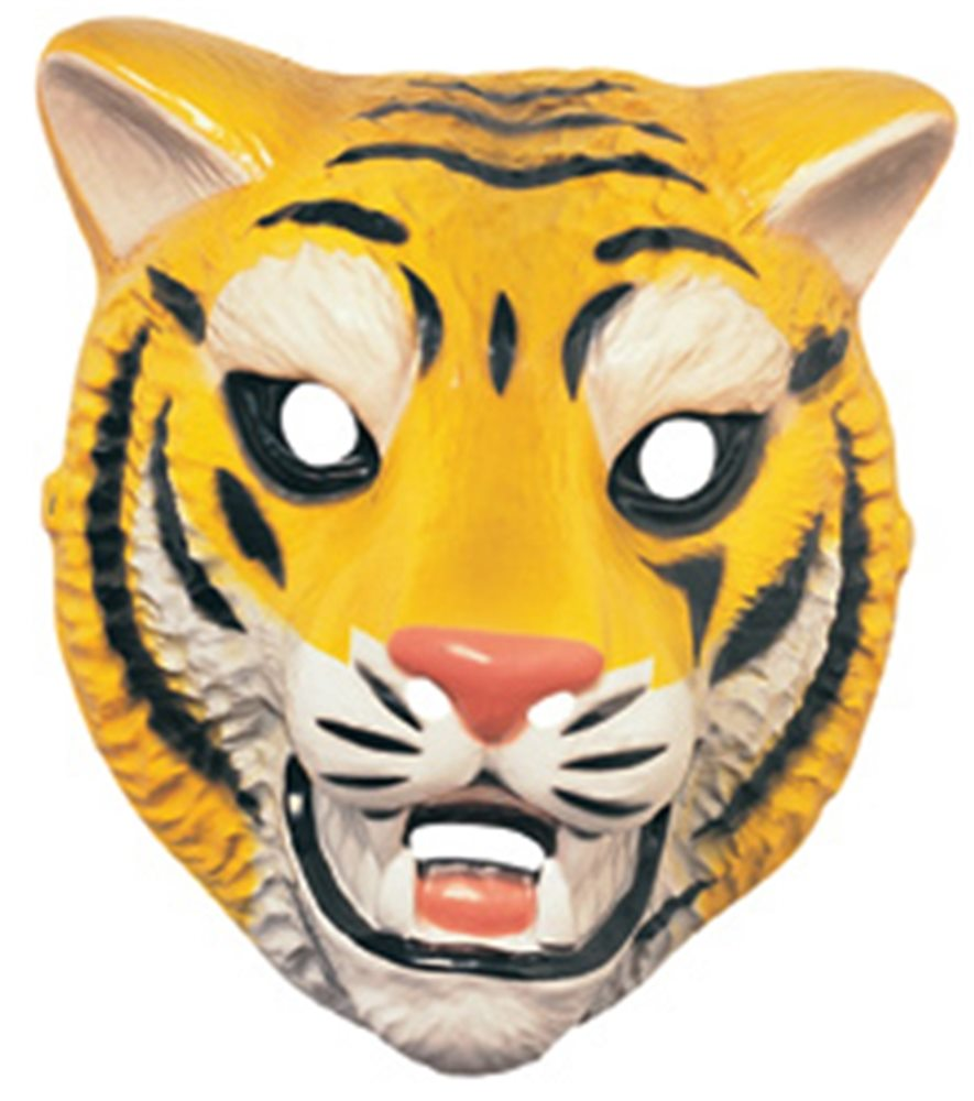 Picture of Tiger Plastic Mask