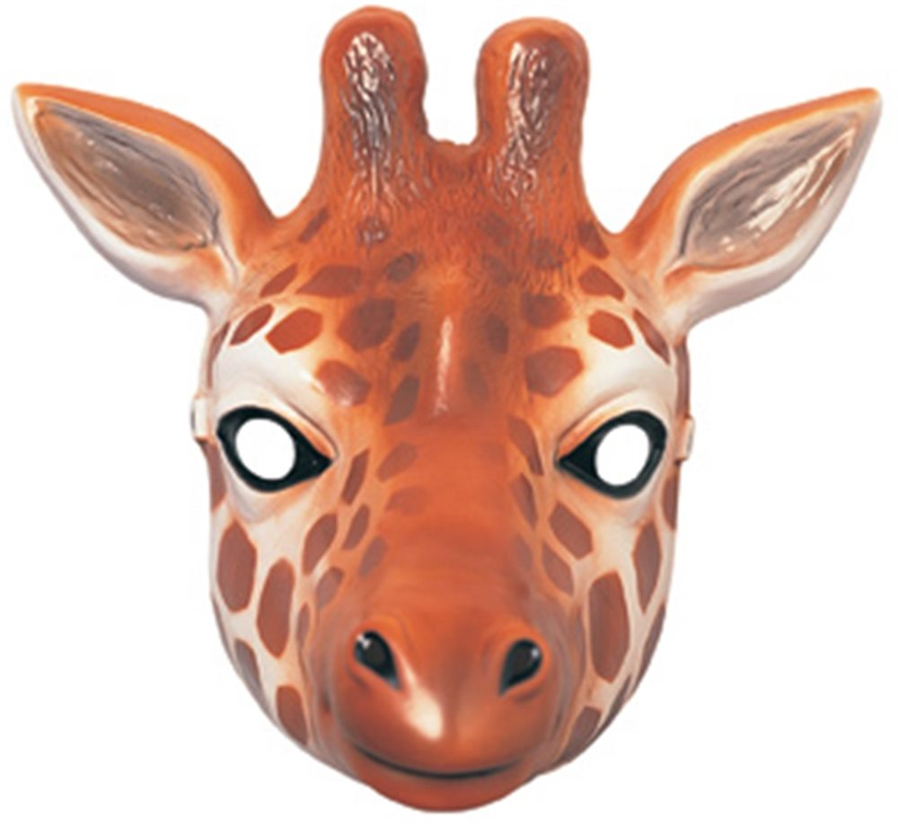 Picture of Giraffe Plastic Mask