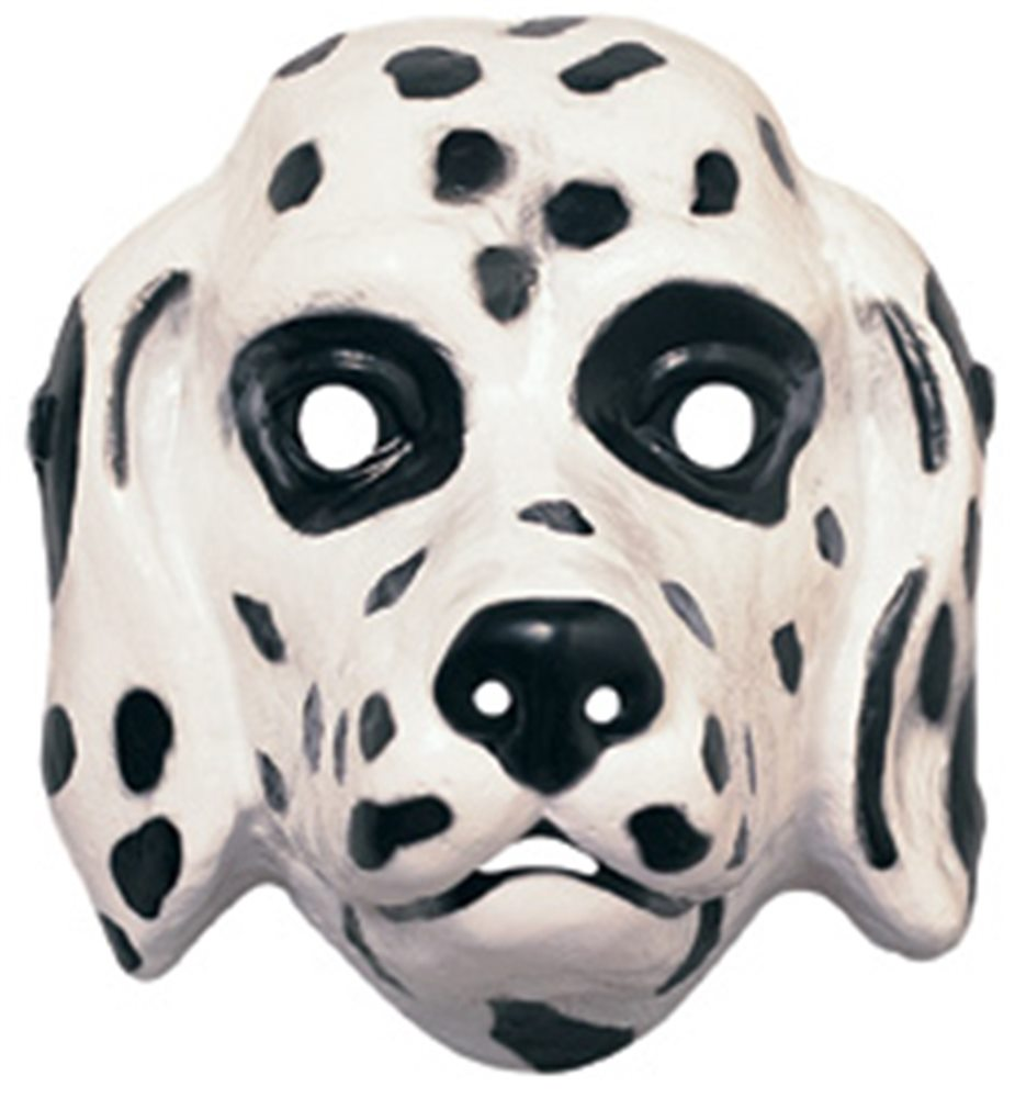 Picture of Dalmation Plastic Mask