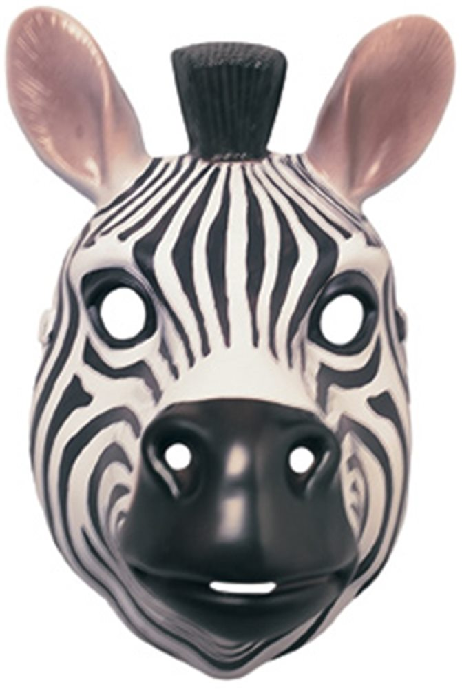 Picture of Zebra Plastic Mask