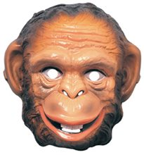 Picture of Monkey Plastic Mask