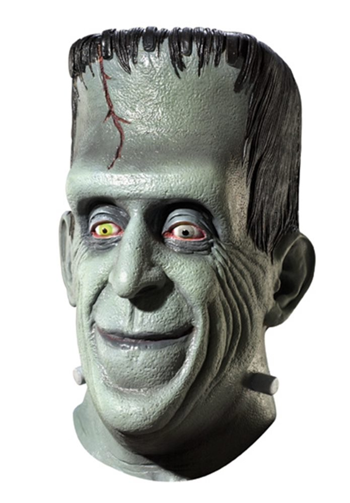 Picture of Herman Munster Latex Mask
