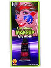 Picture of Red Glitter Gel Makeup