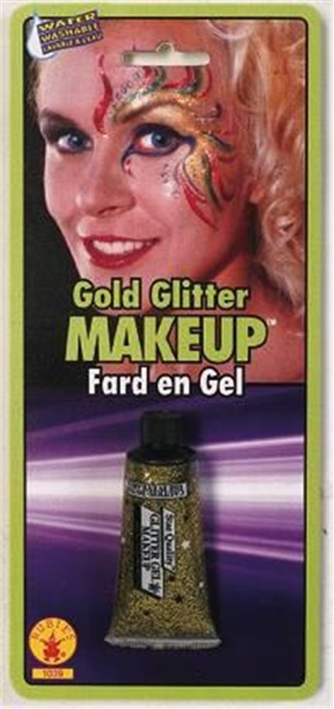 Picture of Gold Glitter Gel Makeup