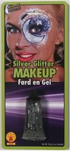 Picture of Silver Glitter Makeup