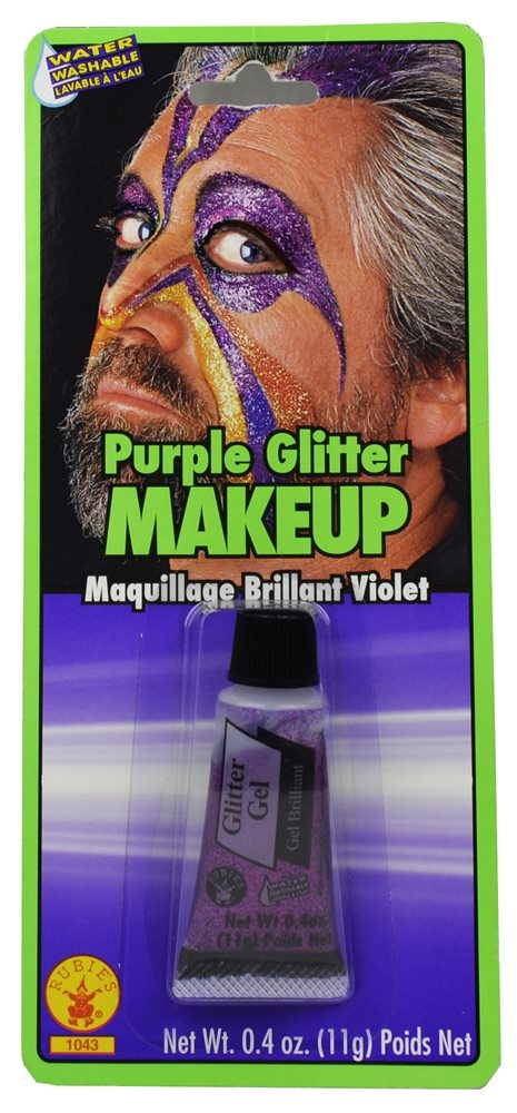 Picture of Purple Glitter Gel Makeup