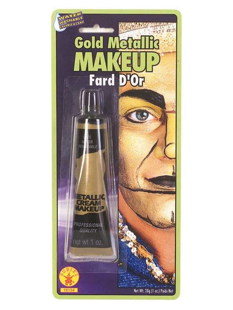 Picture of Gold Metallic Cream Makeup