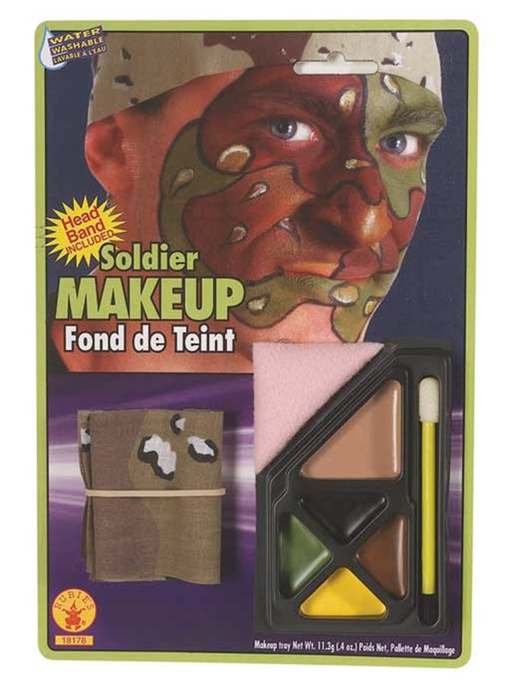 Picture of Soldier Camouflage Makeup Kit