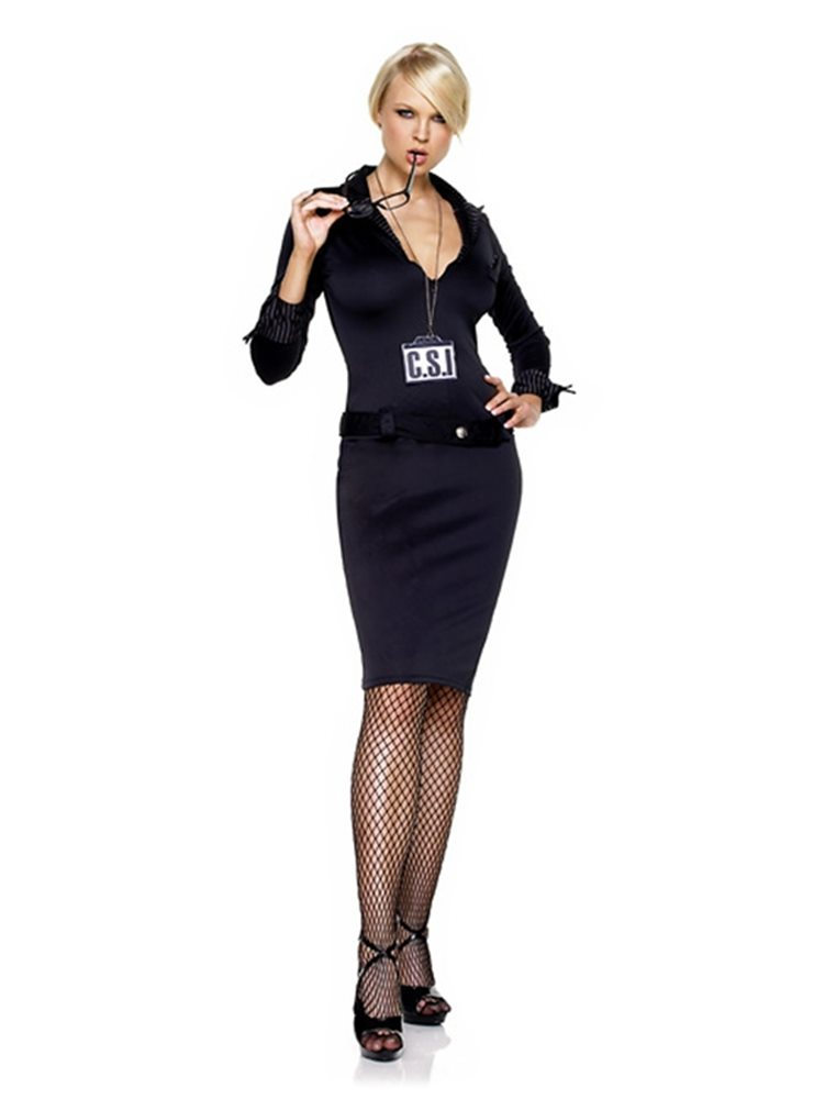 Picture of CSI Detective Adult Womens Costume