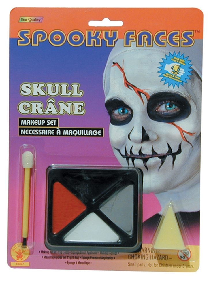 Picture of Spooky Faces Skull Makeup