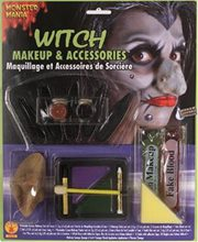 Picture of Witch Makeup and Accessories Kit