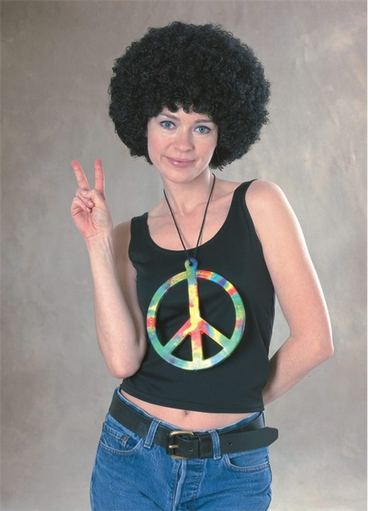 Picture of Oversized Peace Symbol Necklace