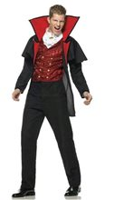 Picture of Prince of Darkness Vampire 2pc Costume