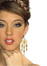 Picture of Gold Coin Goddess Earrings
