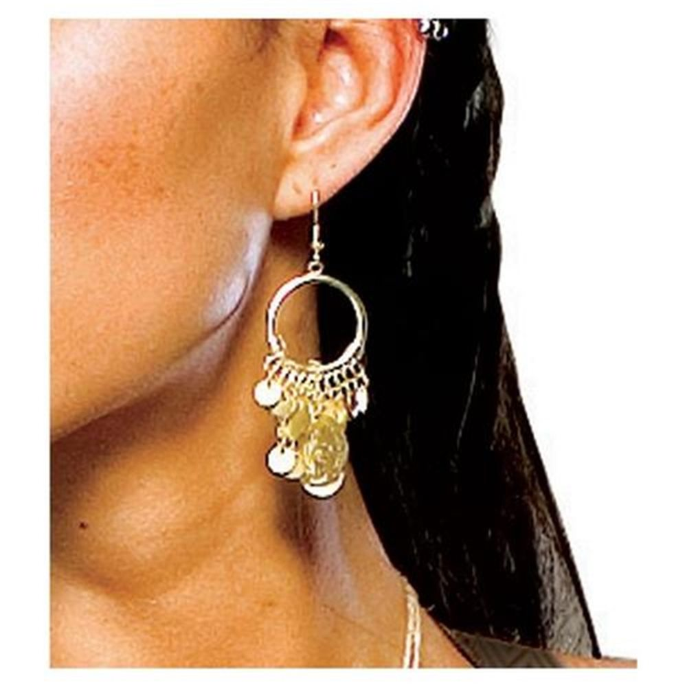Picture of 300 Spartan Queen Coin Earrings