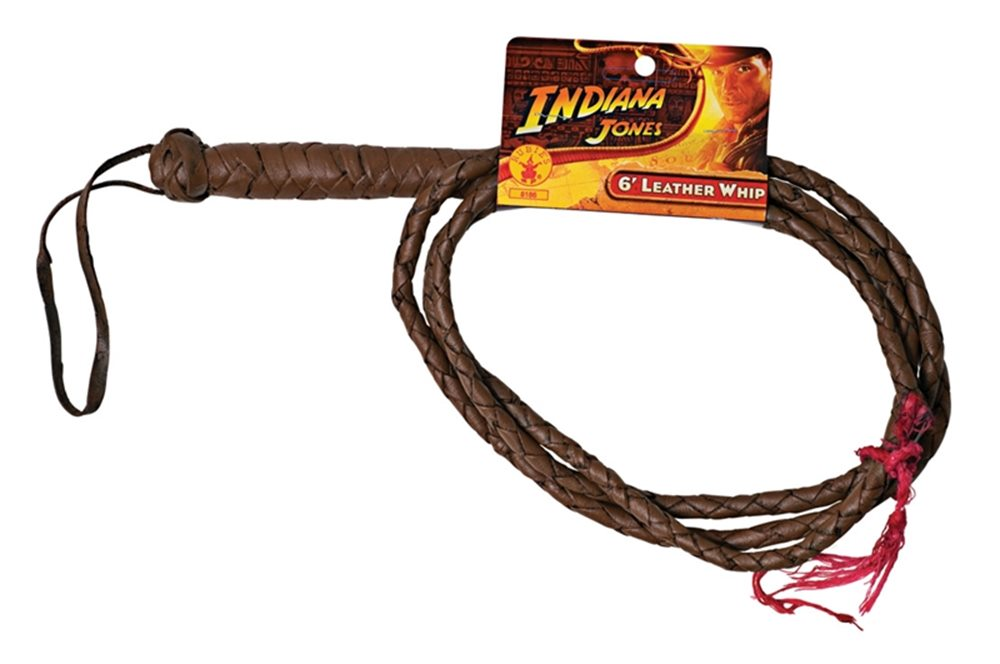 Picture of Indiana Jones Leather Whip 6ft