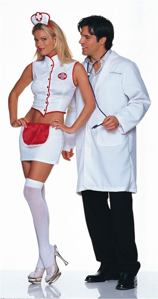 Picture of Naughty Nurse 3pc Costume
