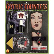 Picture of Deluxe Gothic Countess Makeup Kit