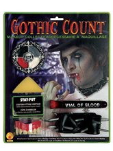 Picture of Deluxe Gothic Count Makeup set