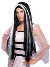 Picture of Streaked Vampira Wig