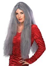 Picture of Long Grey Wig