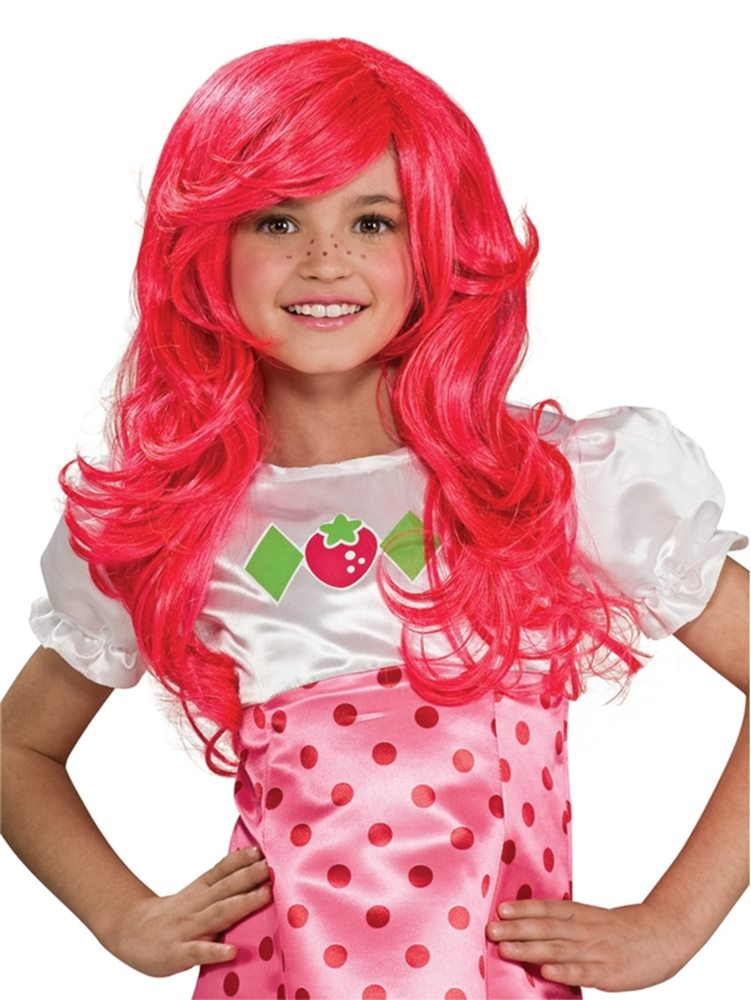 Picture of Strawberry Shortcake Child Wig
