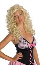 Picture of Blonde Rockabilly Swish Adult Wig